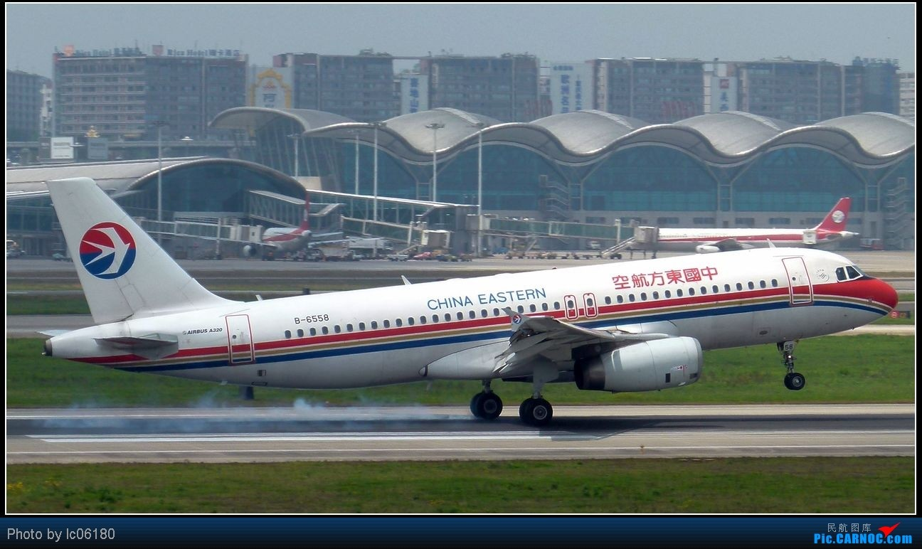 Re:[原创]『lc06180』CKG·周末拍机 AIRBUS A320-200 B-6558 中国重庆江北机场