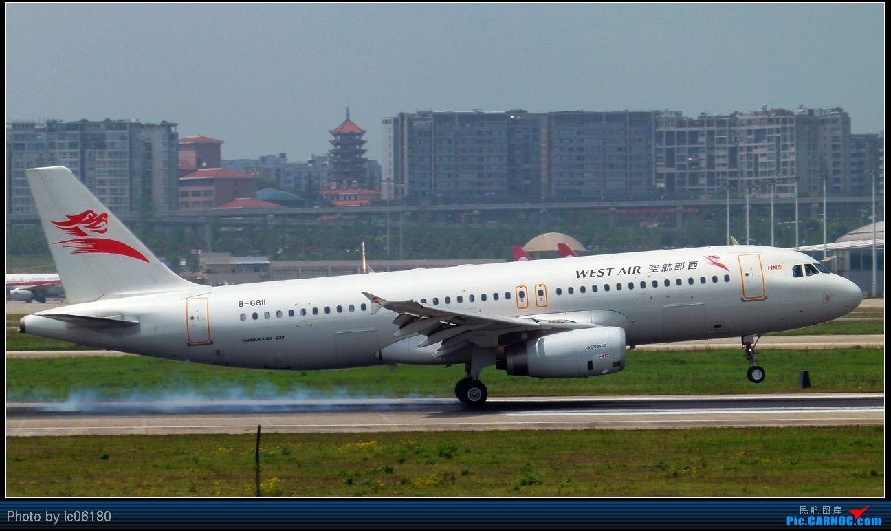 Re:[原创]『lc06180』CKG·周末拍机 AIRBUS A320-200 B-6811 中国重庆江北机场