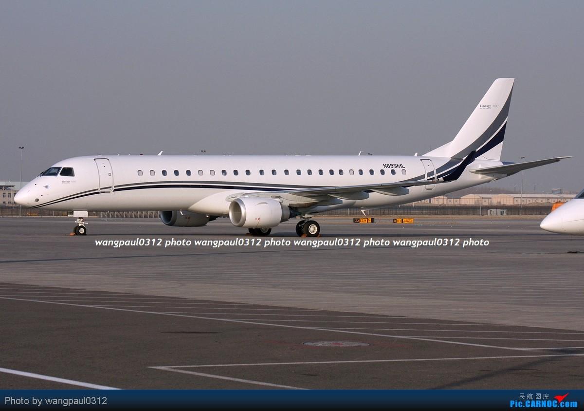 Re:[原创]几个包机,涂装各有特色,鲜艳的,低调的,还有看了起鸡皮疙瘩的 EMBRAER 190 LINEAGE 1000 N889ML 北京首都国际机场