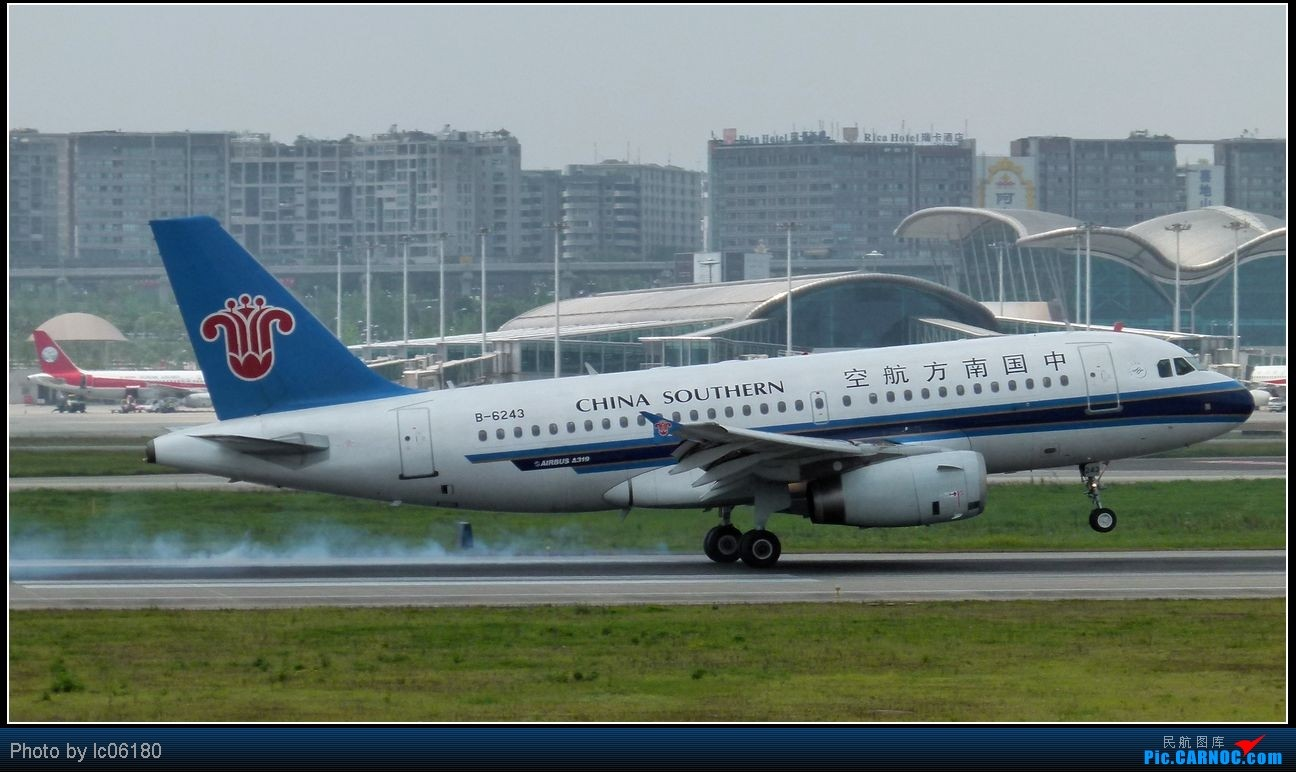 Re:[原创]『lc06180』CKG·周末拍机 AIRBUS A319-100 B-6243 中国重庆江北机场
