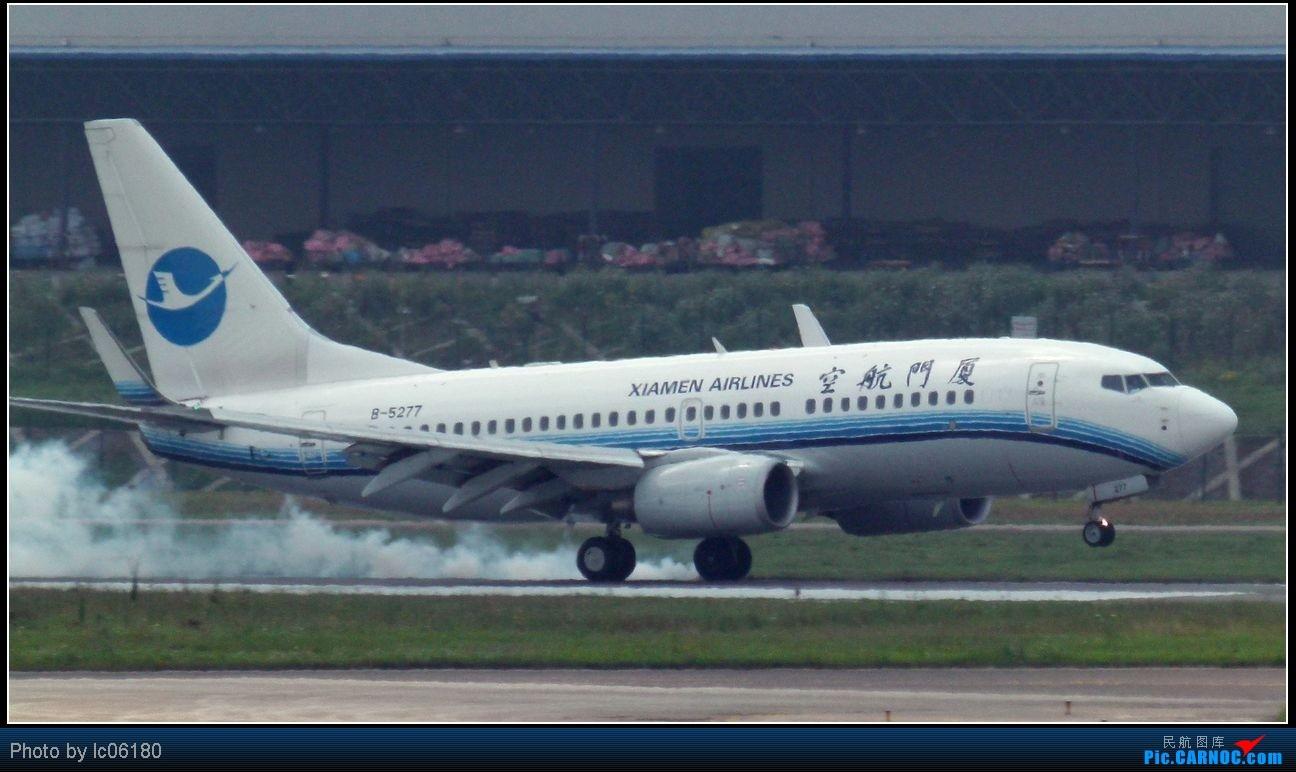Re:[原创]『lc06180』CKG·周末拍机 BOEING 737-700 B-5277 中国重庆江北机场