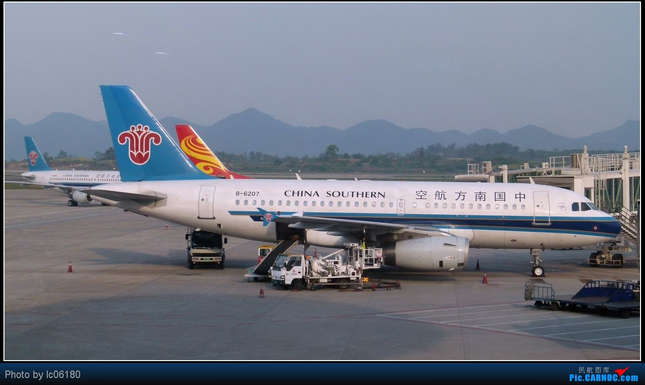 Re:[原创]从KHN到CKG  3U8960 AIRBUS A319-100 B-6207 中国重庆江北机场