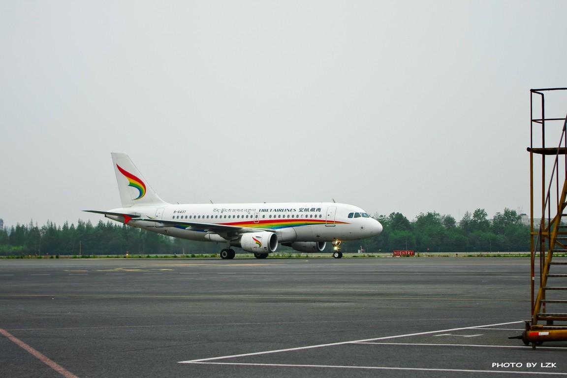 Re:[原创]双流机场02L内场拍摄(多图79P) AIRBUS A319 B-6437 ZUUU