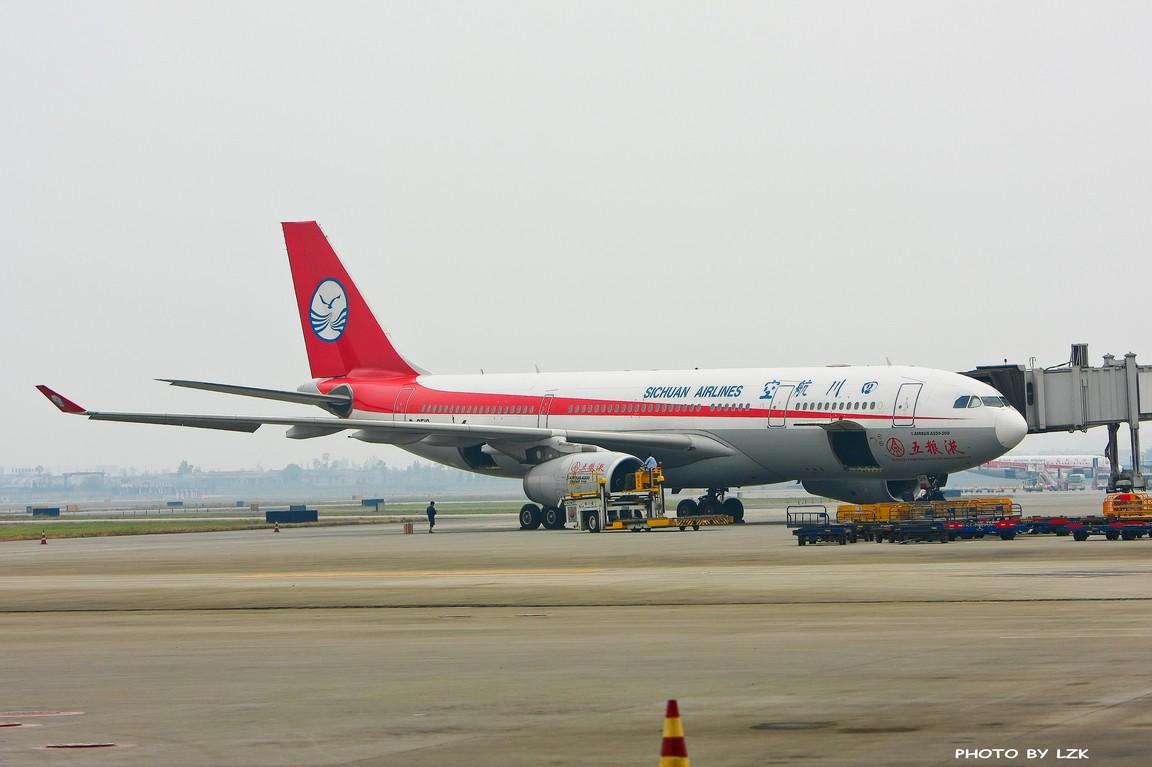 Re:[原创]双流机场02L内场拍摄(多图79P) AIRBUS A330 B-6518 ZUUU