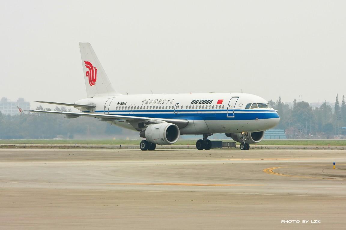 Re:[原创]双流机场02L内场拍摄(多图79P) AIRBUS A319 B-6014 ZUUU