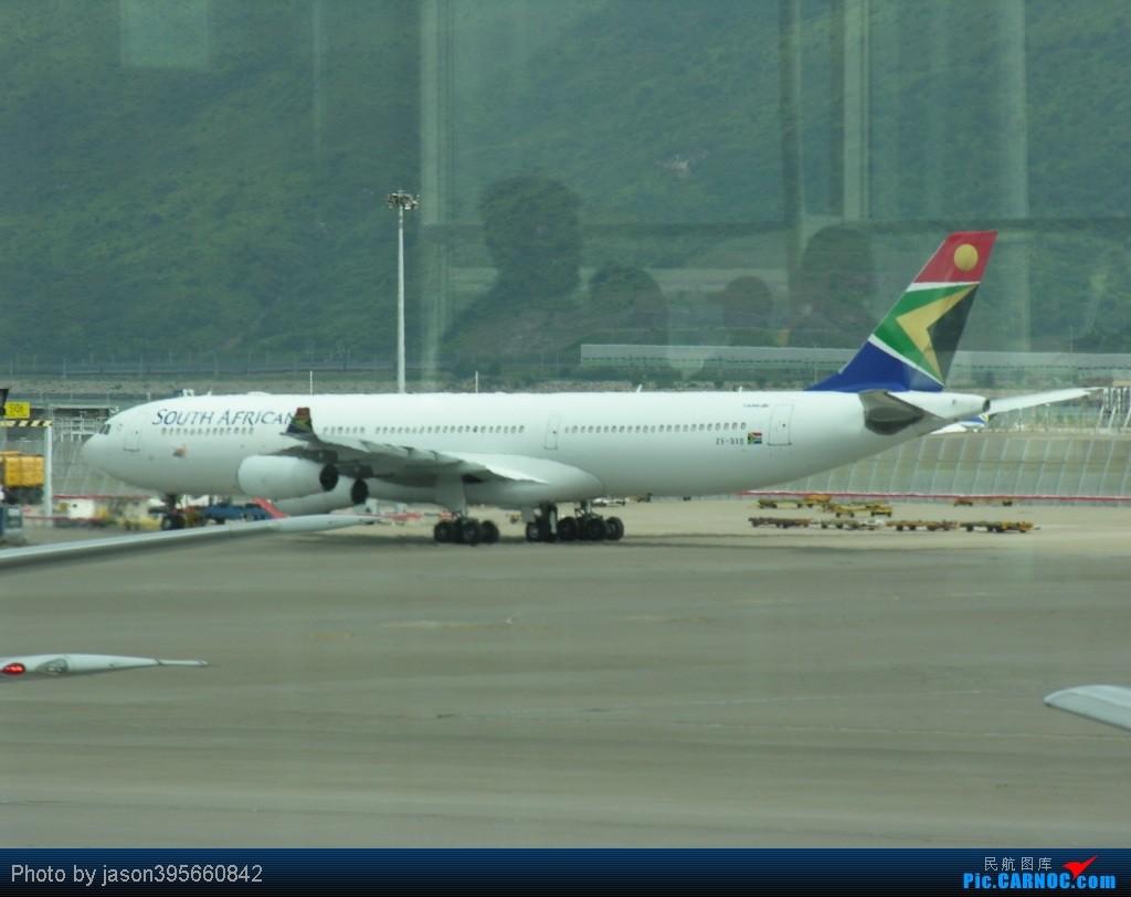 Re:[原创]11年游记 HKG-KUL 新人首篇游记 AIRBUS A340-300 ZS-SXB 中国香港赤鱲角国际机场