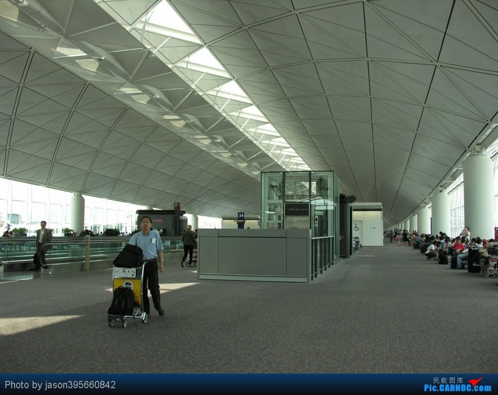 Re:[原创]11年游记 HKG-KUL 新人首篇游记    中国香港赤鱲角国际机场