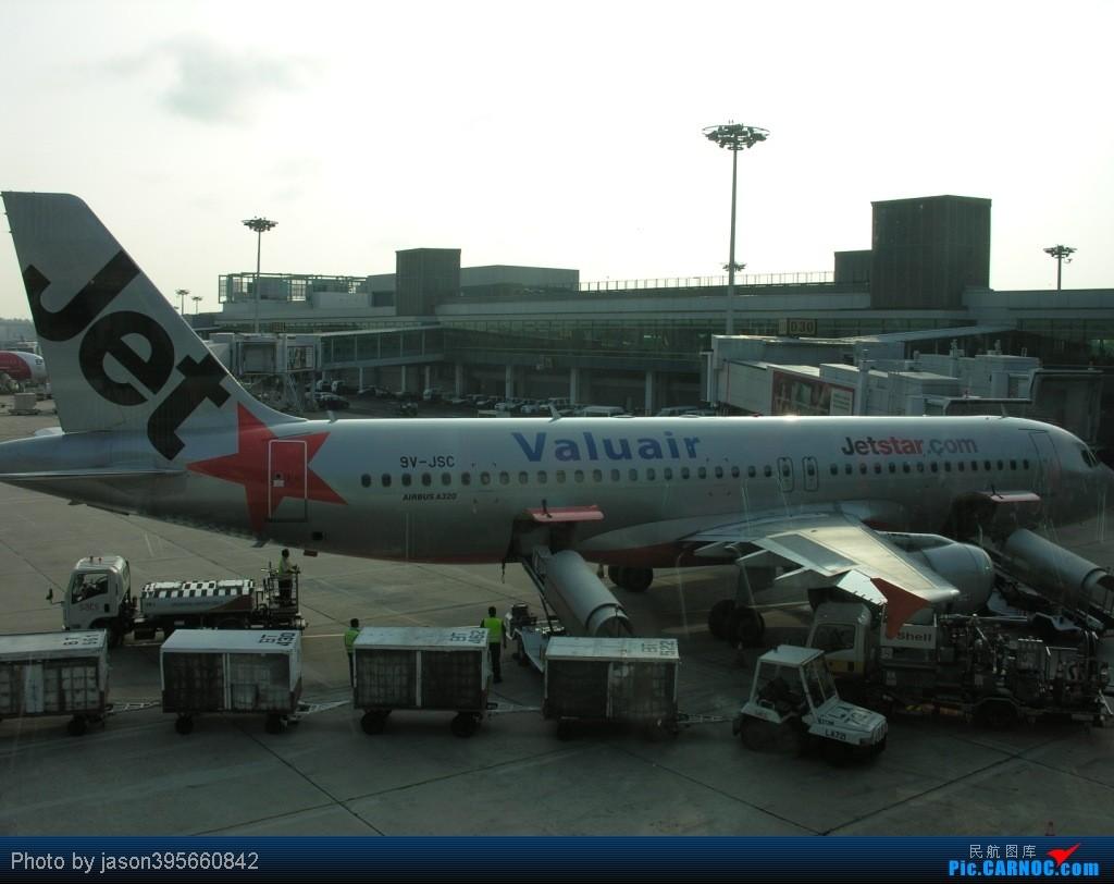 Re:[原创]SIN-HKG  新马交流营完结~回国~ AIRBUS A320-200 9V-JSC 新加坡樟宜机场