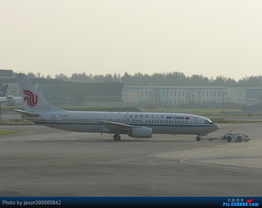 Re:[原创]SIN-HKG  新马交流营完结~回国~ BOEING 737-800 B-5431 新加坡樟宜机场