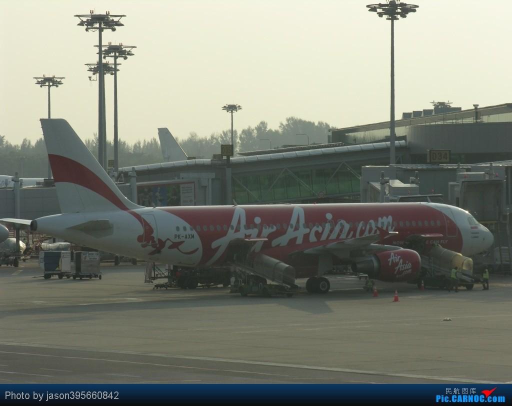 Re:[原创]SIN-HKG  新马交流营完结~回国~ AIRBUS A320-200 PK-AXM 新加坡樟宜机场