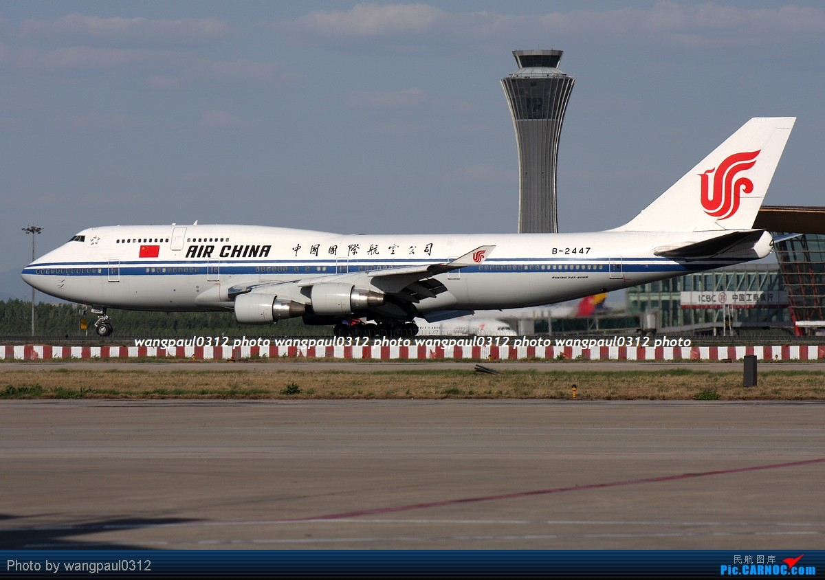 Re:[原创]难得的好天气,来几张首都机场重型机在36R跑道起飞图 BOEING 747-4J6 B-2447 北京首都国际机场