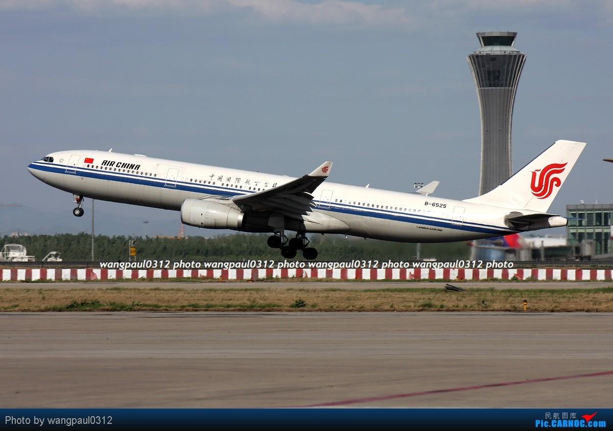Re:[原创]难得的好天气,来几张首都机场重型机在36R跑道起飞图 AIRBUS A330-343X B-6525 北京首都国际机场