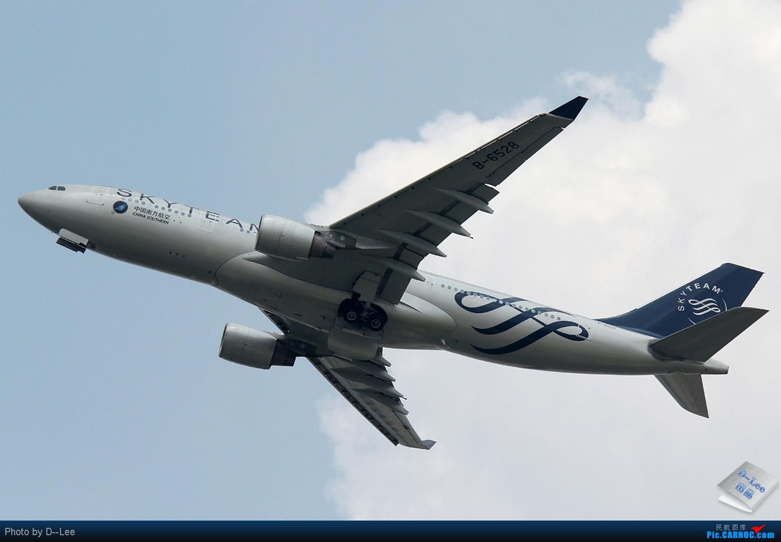 [原创]【广州,你好】-南航SKY TEAM332,港龙333,泰航大星星333外加拍少见少东航AB6全程1600大图放送 AIRBUS A330-200 B-6528 中国广州白云机场