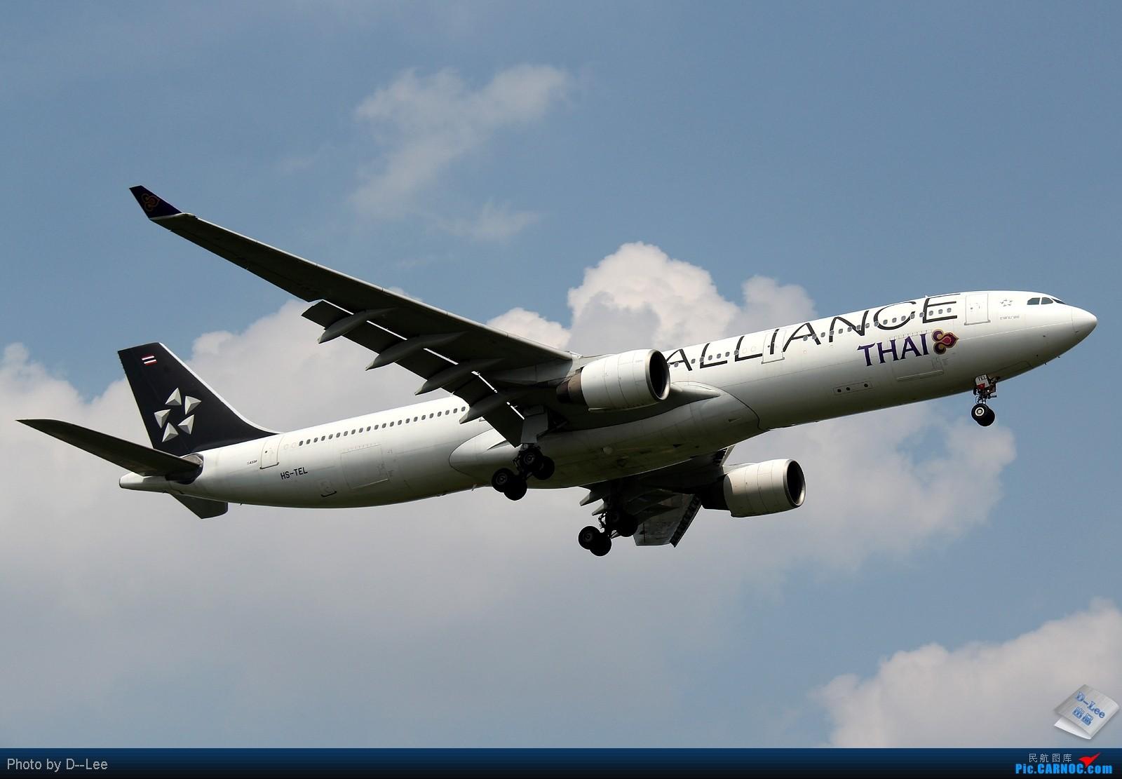 Re:[原创]【广州,你好】-南航SKY TEAM332,港龙333,泰航大星星333外加拍少见少东航AB6全程1600大图放送 AIRBUS A330-300 HS-TEL 中国广州白云机场