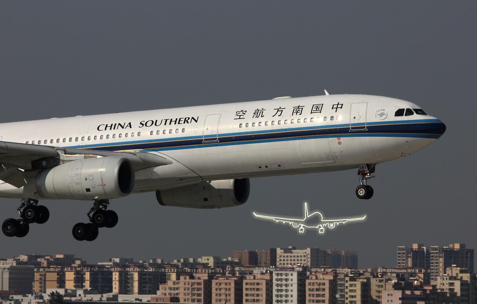 Re:[原创]★ ★ ★ ★ ★   深圳二跑那些大灰机们   ★ ★ ★ ★ ★ AIRBUS A330-300 B-6087 中国深圳宝安机场