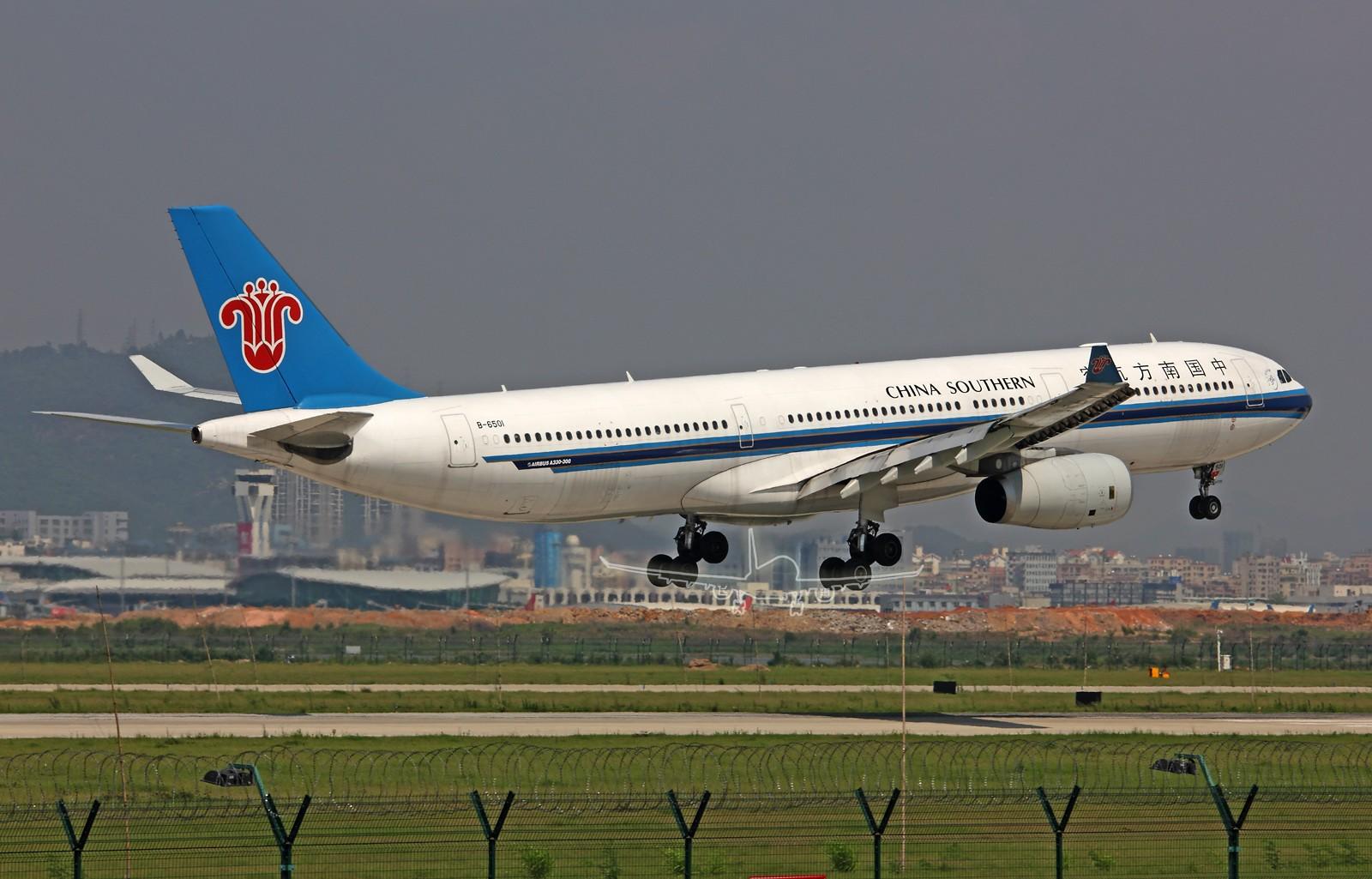 Re:[原创]★ ★ ★ ★ ★   深圳二跑那些大灰机们   ★ ★ ★ ★ ★ AIRBUS A330-300 B-6501 中国深圳宝安机场