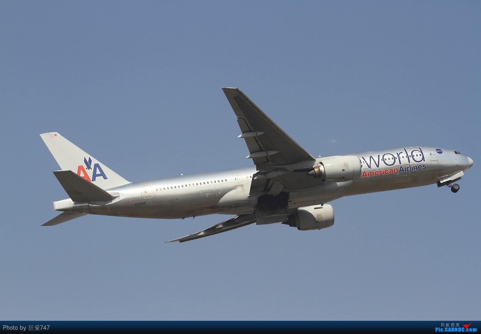 Re:[原创]东跑起飞图一组,赠送ABC大头照一张 BOEING 777-223/ER N796AN 中国北京首都机场