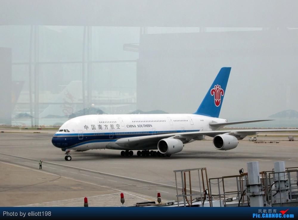 >>[原创]香港国际机场t1现场热图+南航京港线a380+泰航复古747