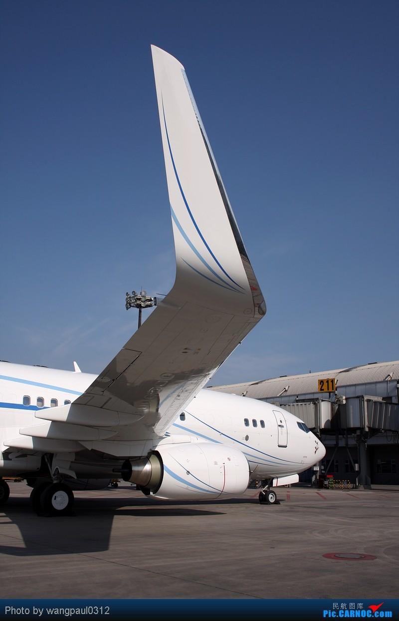 波音BBJ小姨的魅力! BOEING 737-7HD(BBJ) VP-BNZ 北京首都国际机场