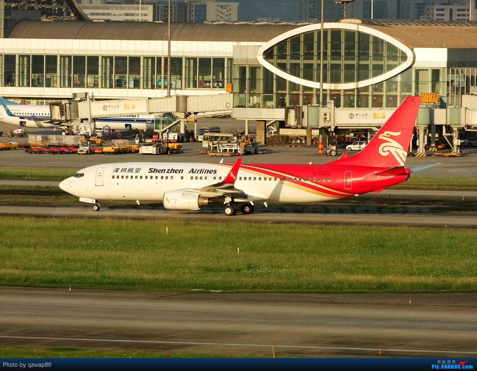 Re:[原创]【CCFA成都空港缘分】为TA拍婚纱 BOEING 737-800 B-5362 成都双流国际机场