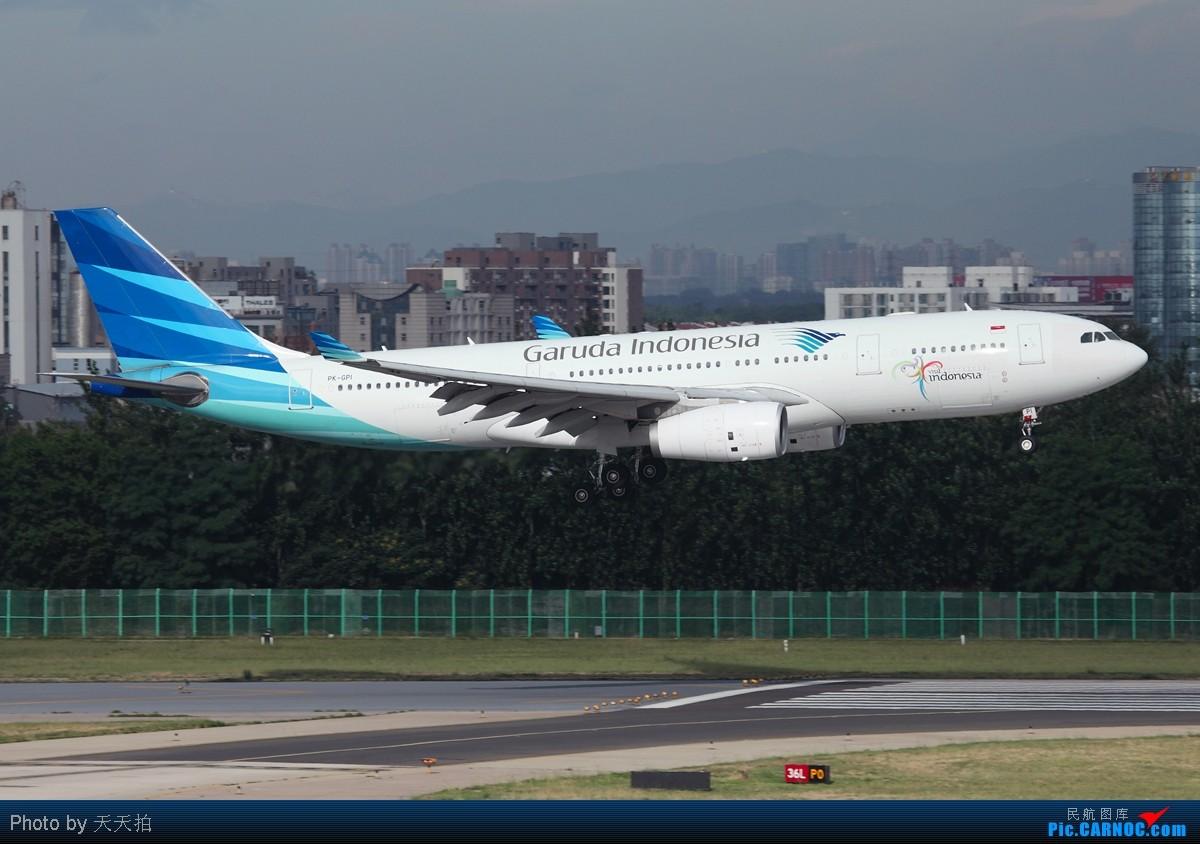 Re:[原创]全国飞友们明天别忘了跟自己的爸爸说声节日快乐! AIRBUS A330-200 PK-GPI 中国北京首都机场