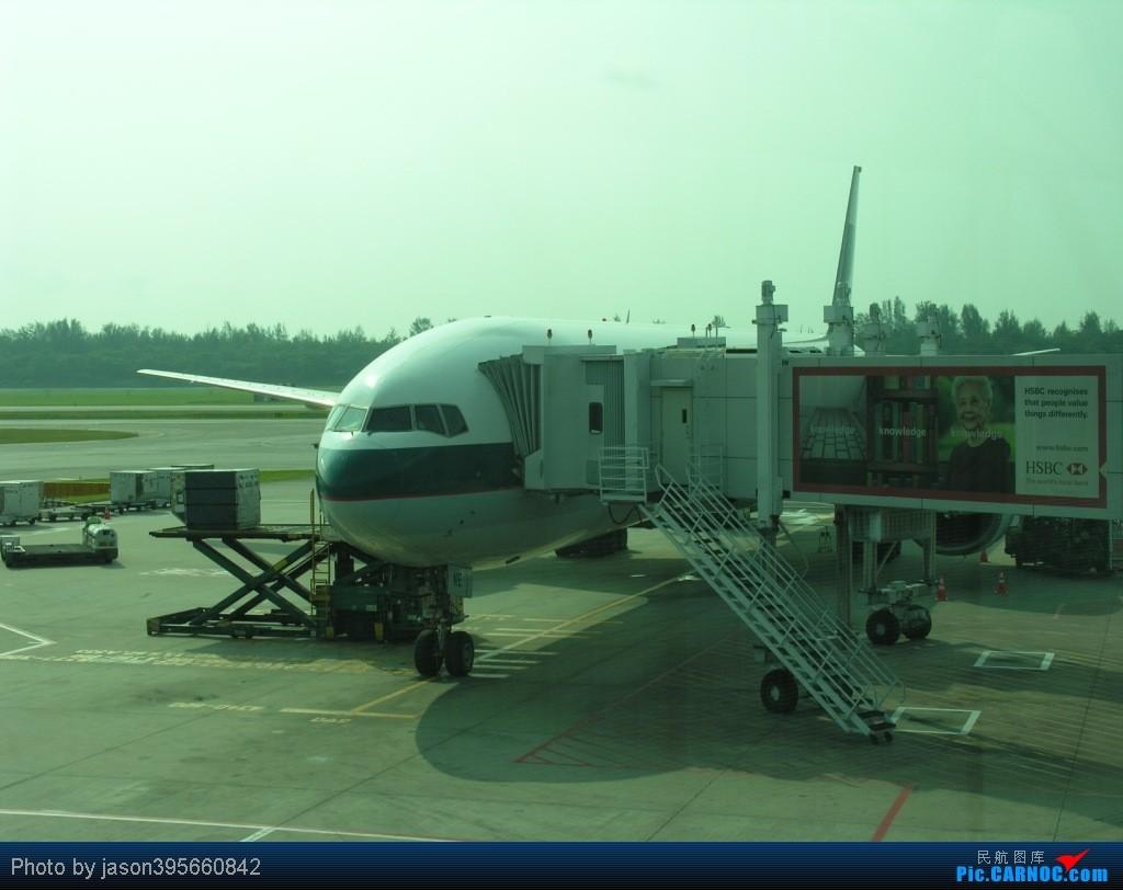 Re:[原创]SIN-HKG  新马交流营完结~回国~ BOEING 777-300  新加坡樟宜机场