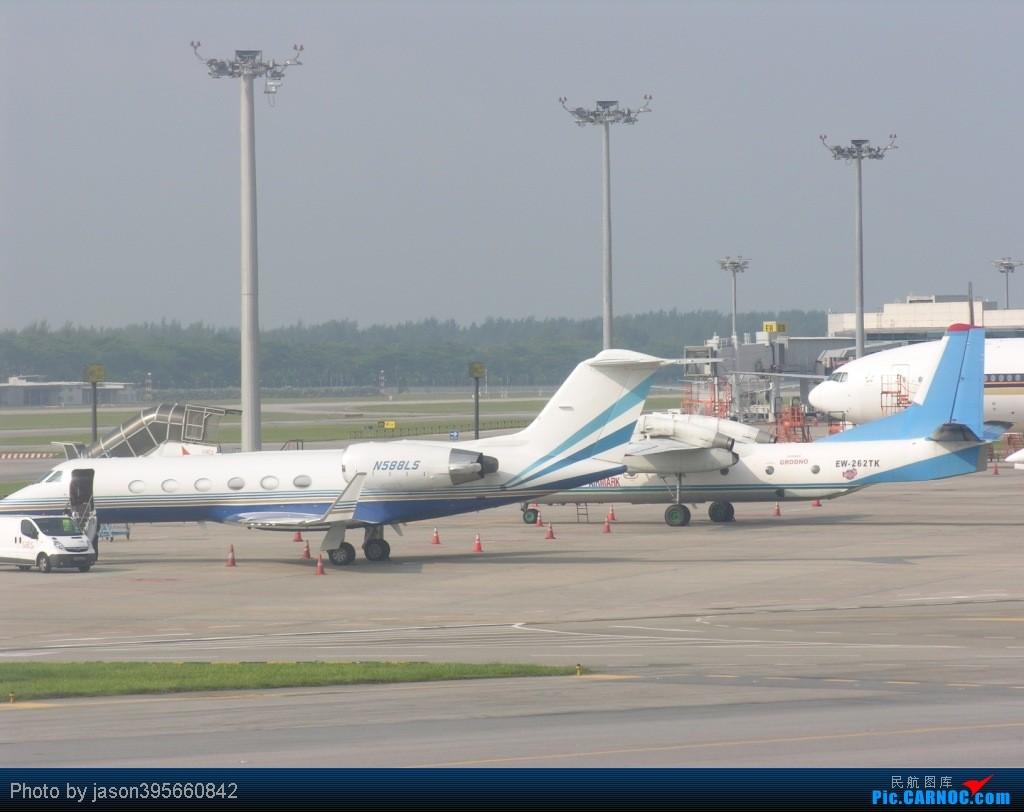 Re:[原创]SIN-HKG  新马交流营完结~回国~ GULFSTREAM IV-SP N588LS 新加坡樟宜机场