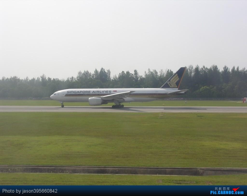 Re:[原创]SIN-HKG  新马交流营完结~回国~ BOEING 777-200 9V-SRG 新加坡樟宜机场
