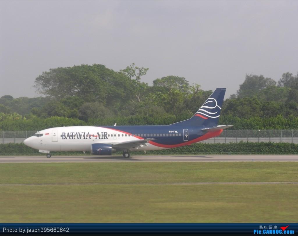 Re:[原创]SIN-HKG  新马交流营完结~回国~ BOEING 737-300 PK-YVL 新加坡樟宜机场