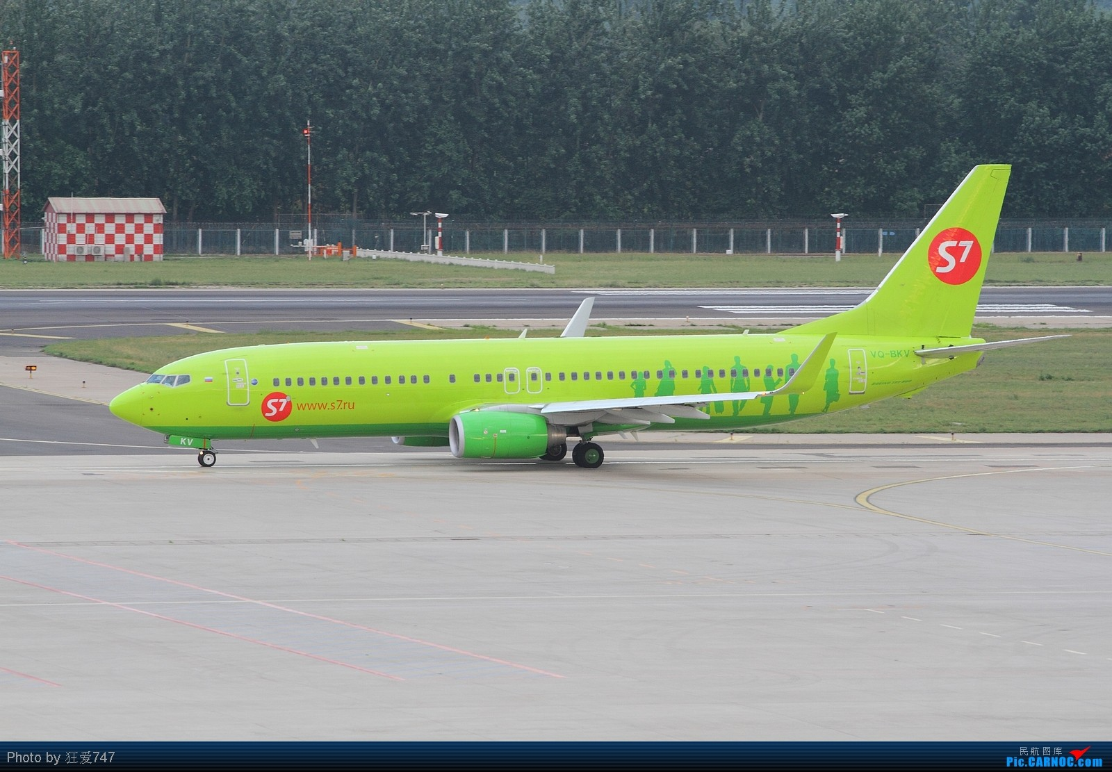 [原创]西跑拍摄的一组外航飞机 BOEING 737-8ZS VQ-BKV 中国北京首都机场