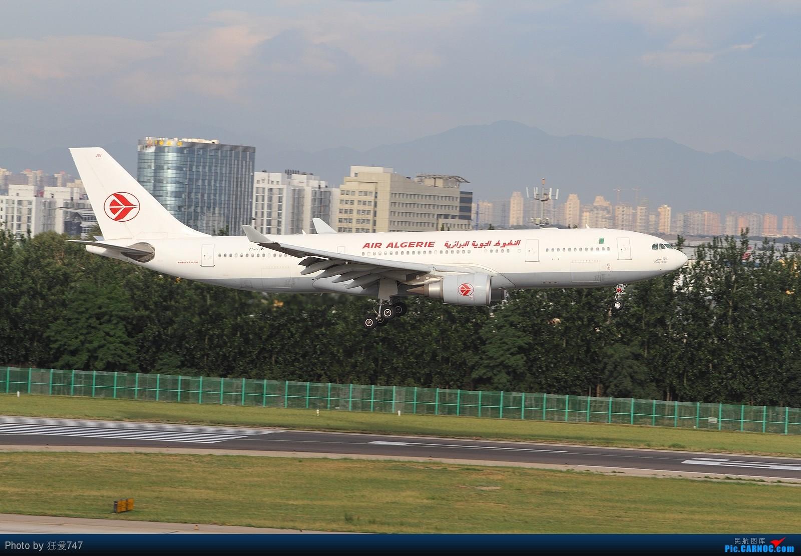 Re:[原创]西跑拍摄的一组外航飞机 AIRBUS A330-203 7T-VJW 中国北京首都机场