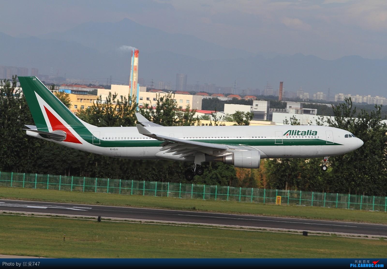 Re:[原创]西跑拍摄的一组外航飞机 AIRBUS A330-202 EI-EJJ 中国北京首都机场