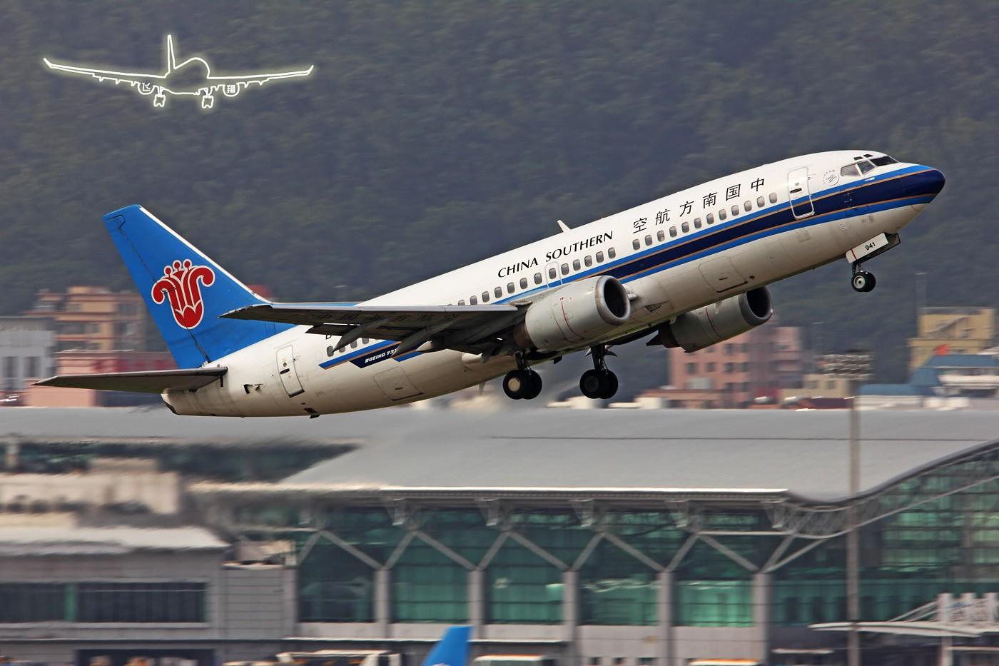 Re:[原创]★ ★ ★ ★ ★  许久没有拍动感了,希望感觉还在,支持还在   ★ ★ ★ ★ ★ BOEING 737-300 B-2941 中国深圳宝安机场