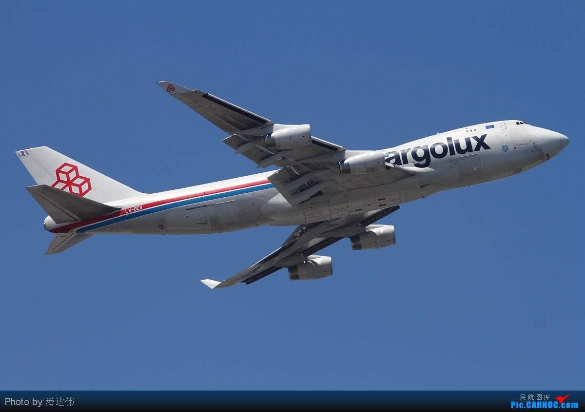[原创]PEK拍机~离京前最后一次拍机~天气不错~飞机也不错~ BOEING 747-400F LX-OCV 中国北京首都机场