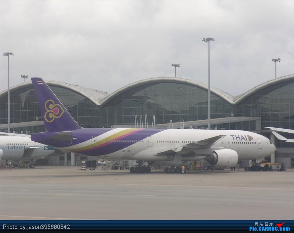 Re:7月就拍777 BOEING 777-200 HS-TJA 中国香港赤鱲角国际机场