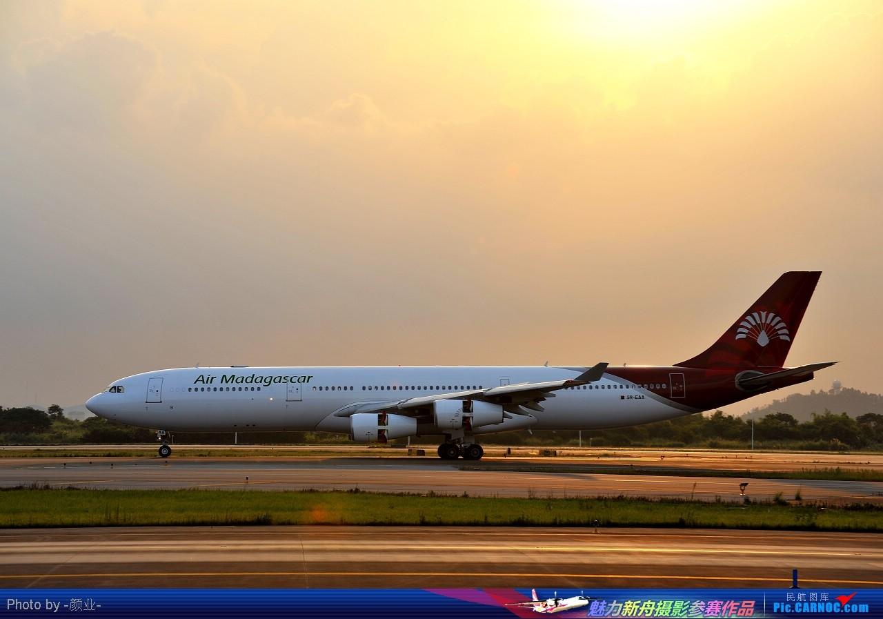 Re:[原创]我的打灰机心情[广州] AIRBUS A340-300 5R-EAA 白云空港