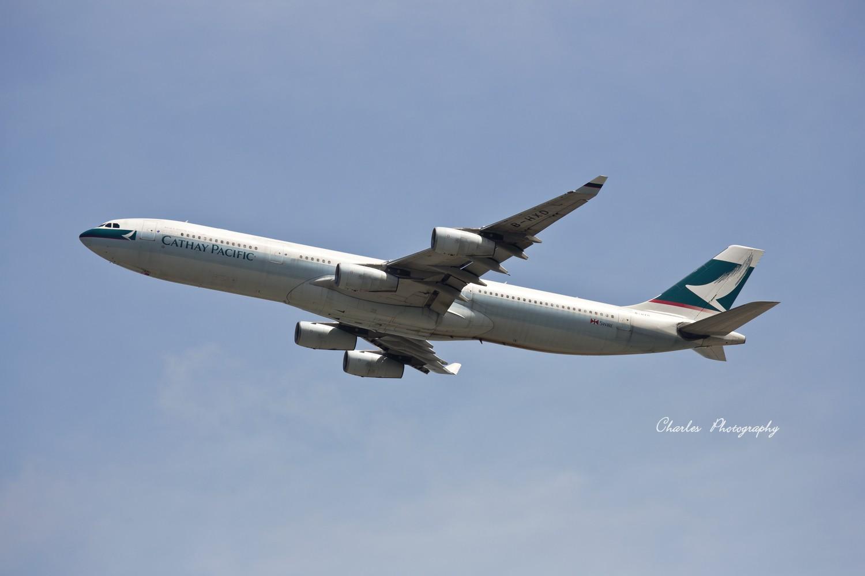 Re:[原创]带着小三游香港机场之拜师贴 AIRBUS A340-300 B-HXD 中国香港赤?v角国际机场