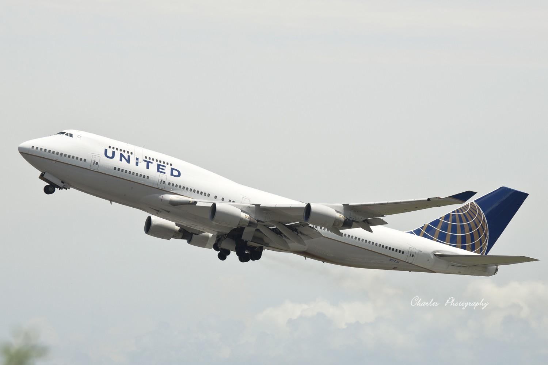 Re:[原创]带着小三游香港机场之拜师贴 BOEING 747-400 N177UA 中国香港赤?v角国际机场