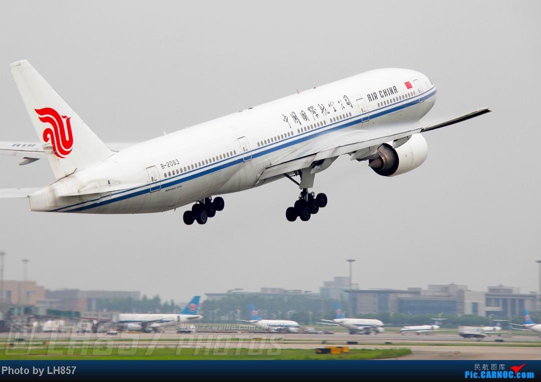 Re:[原创]22天的漂泊,菜航三胖初体验,见证了巫家坝与长水,PEK-CAN-KMG-CKG-SJW四段大暴走(二) BOEING 777-200 B-2063 中国广州白云机场