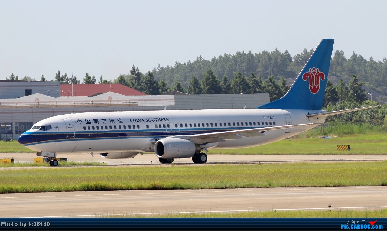 Re:[原创]『KHN』南昌小拍…当飞机在跑道出口停下…… BOEING 737-800 B-5421 中国南昌昌北机场