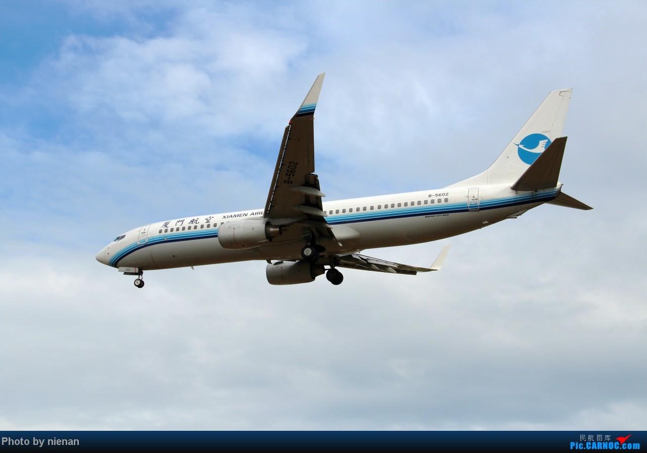 掐指一算,有三年没有好好拍机了… BOEING 737-800 B-5602 中国福州长乐机场