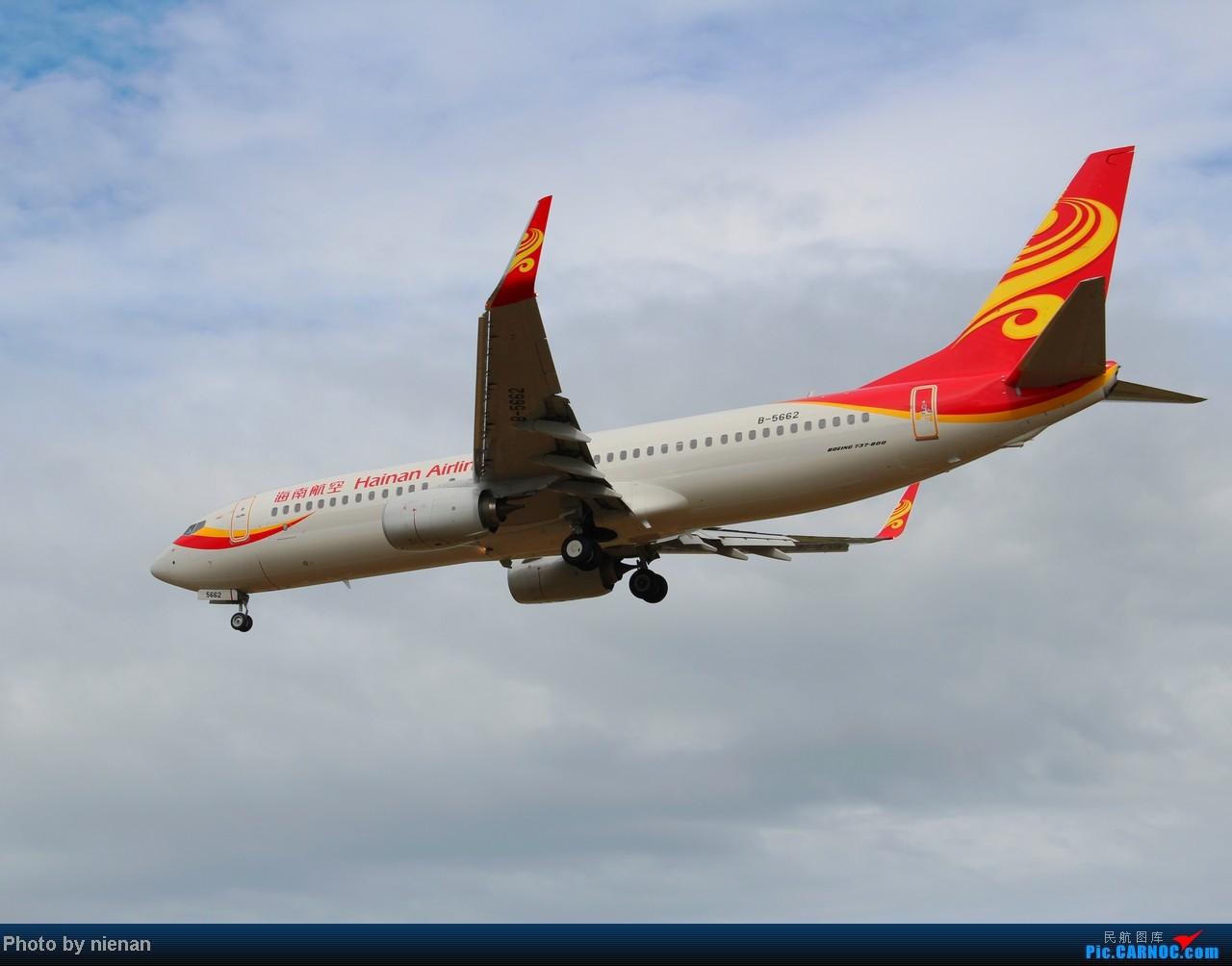 Re:[原创]掐指一算,有三年没有好好拍机了… BOEING 737-800 B-5662 中国福州长乐机场