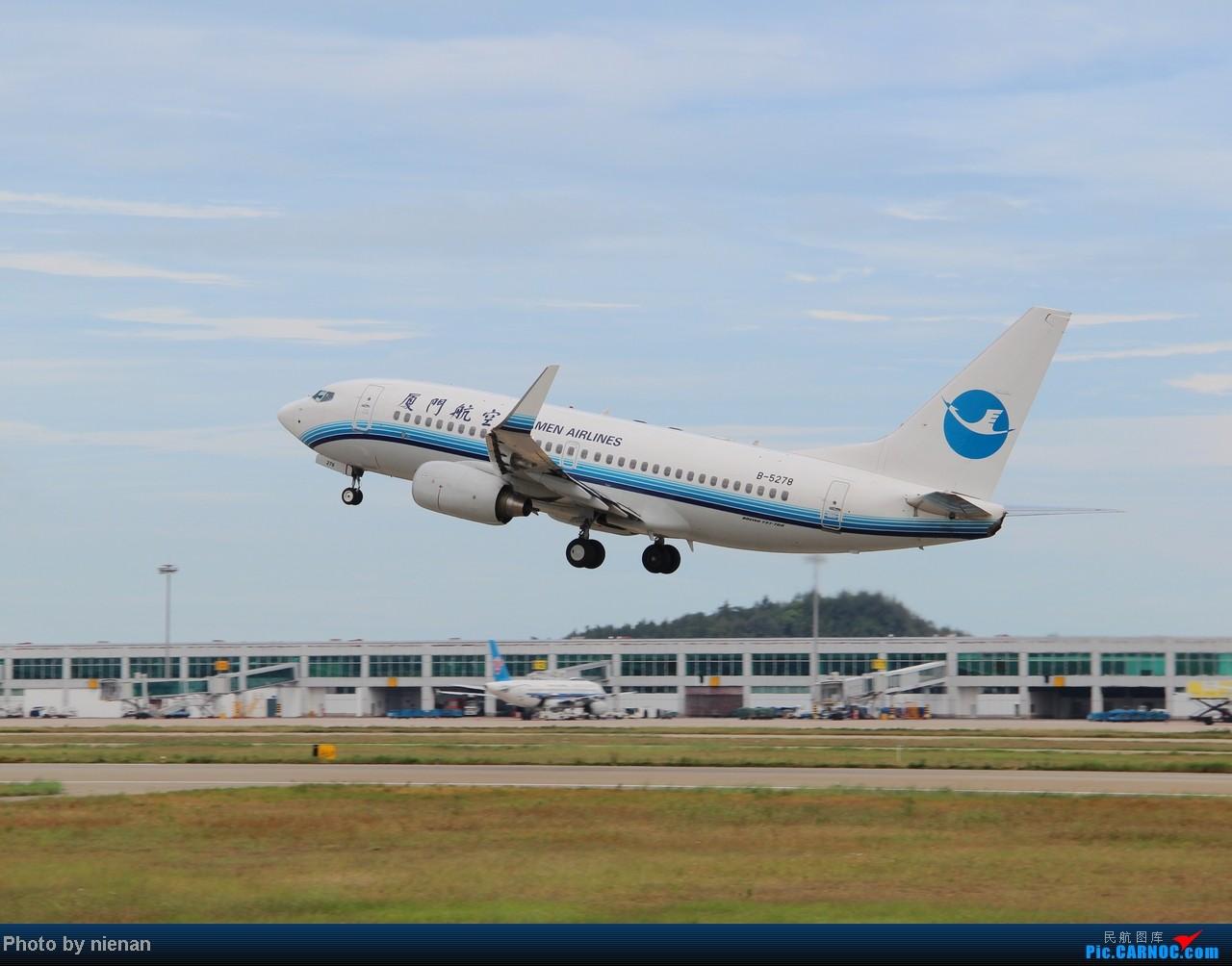Re:[原创]掐指一算,有三年没有好好拍机了… BOEING 737-700 B-5278 中国福州长乐机场