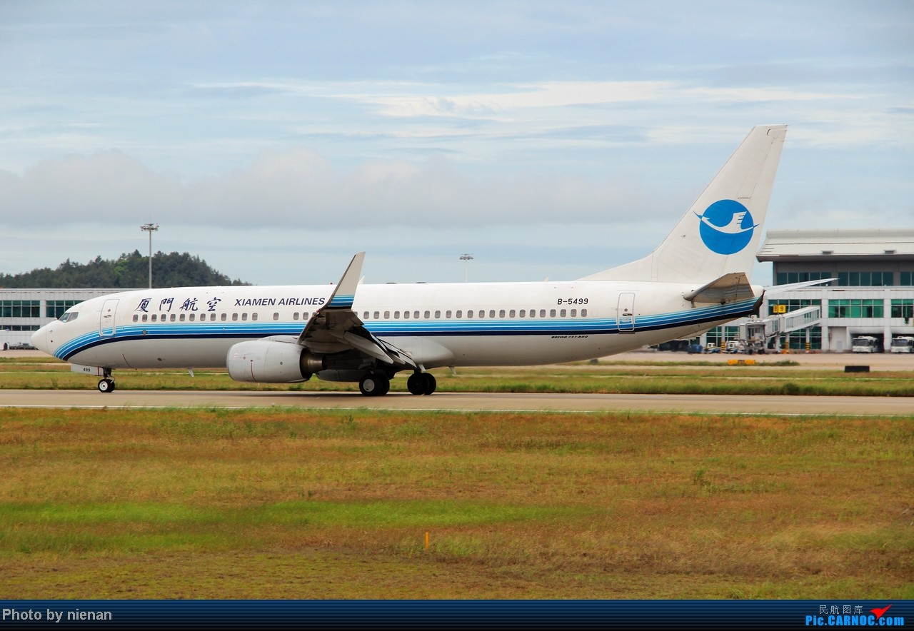 Re:[原创]掐指一算,有三年没有好好拍机了… BOEING 737-800 B-5499 中国福州长乐机场