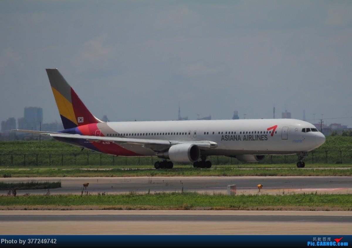 Re:[原创]趁着最后的好天气去趟PVG,烂技术请多包涵。西园会、世博320、长荣744、AC763、UA744。回去磁悬浮飙到430KM一刚。 BOEING 767-300 HL7506 中国上海浦东机场