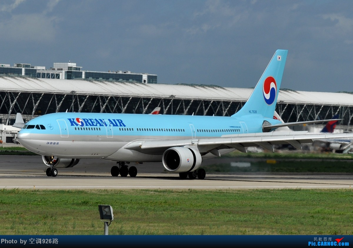 Re:[原创]浦东 掐指一算 上回拍机时遇到这样的好天还是在遥远的2010年…… AIRBUS A330-223 HL7539 中国上海浦东机场