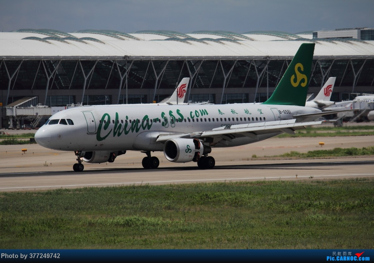 Re:[原创]趁着最后的好天气去趟PVG,烂技术请多包涵。西园会、世博320、长荣744、AC763、UA744。回去磁悬浮飙到430KM一刚。 AIRBUS A320-200 B-6561 中国上海浦东机场