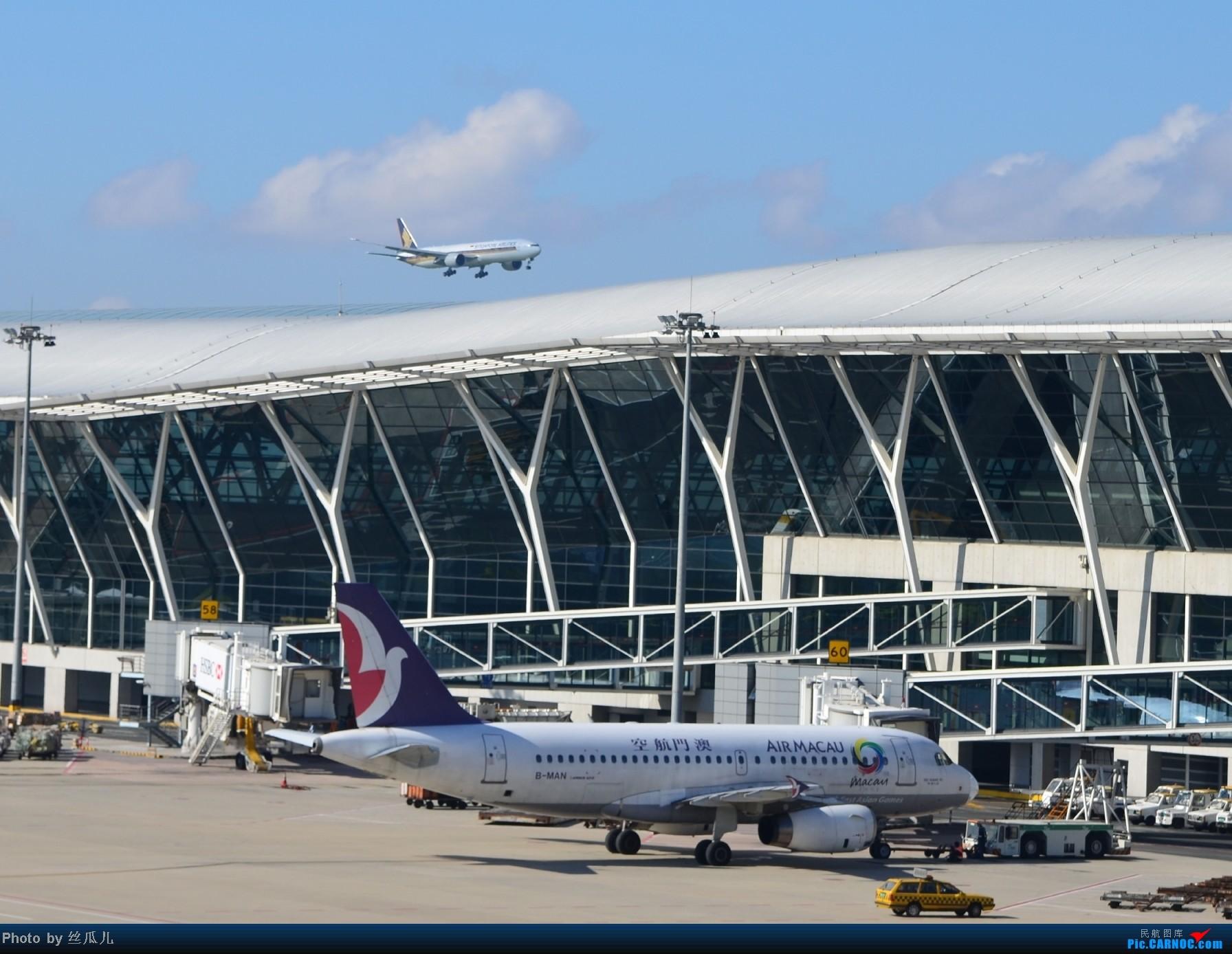 [原创]浦东机场手痒痒了 AIRBUS A319-100 B-MAN 中国上海浦东机场