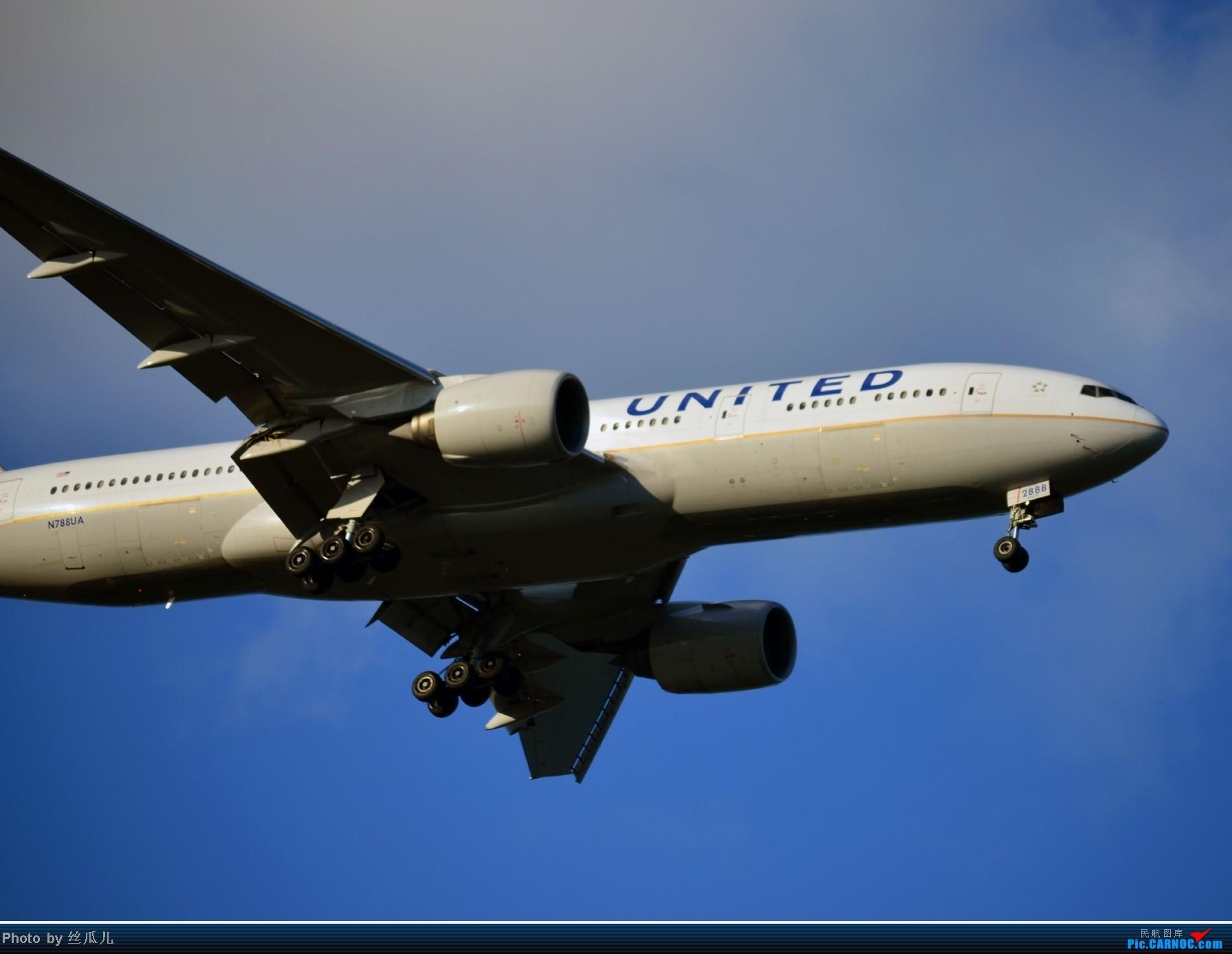 Re:[原创]浦东机场手痒痒了 BOEING 777-200 N788UA 中国上海浦东机场