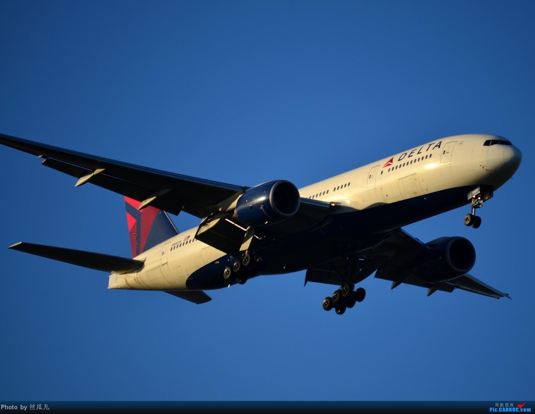 Re:[原创]浦东机场手痒痒了 BOEING 777-200 N866DA 中国上海浦东机场